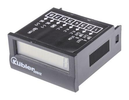 Kubler CODIX 136, 8 Digit, LCD, Digital Counter, 7kHz, 3.6 V Battery
