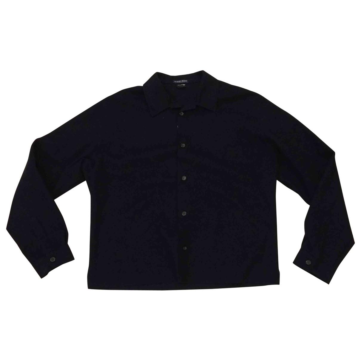 Jil Sander \N Navy Wool jacket  for Men M International