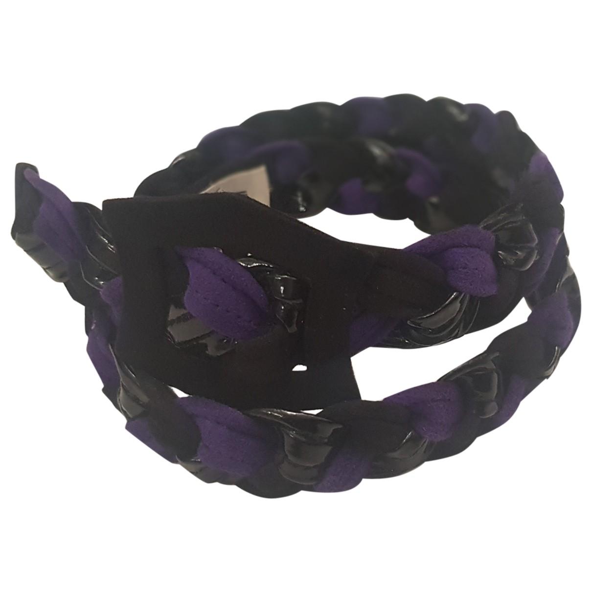 Ungaro Parallele \N Purple Suede belt for Women S International