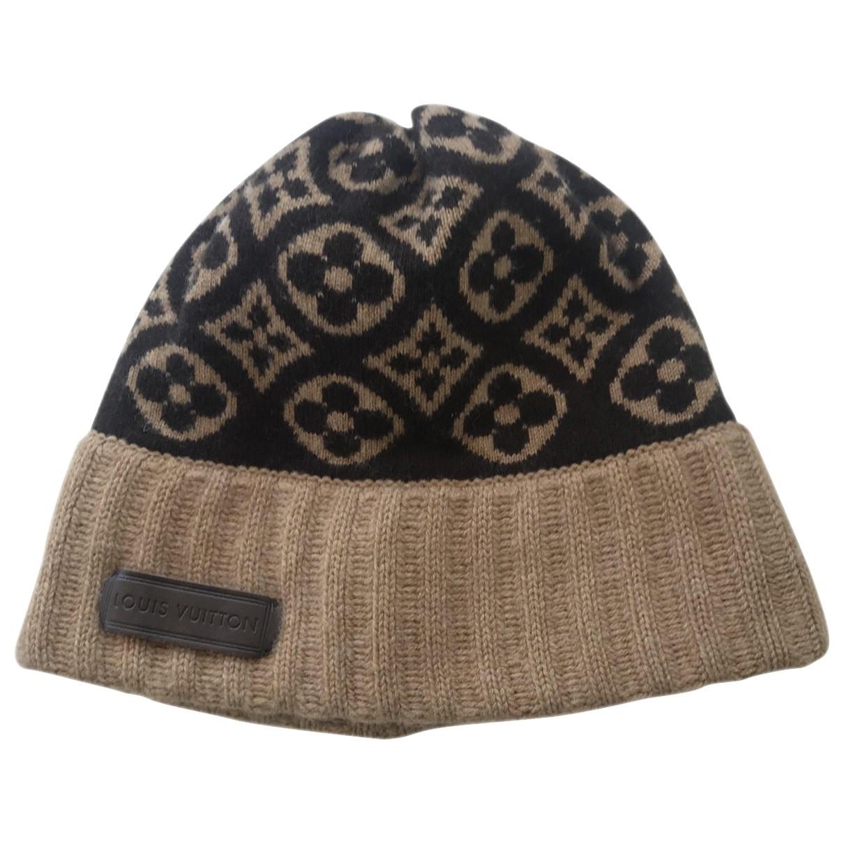 Louis Vuitton \N Beige Cashmere hat for Women M International