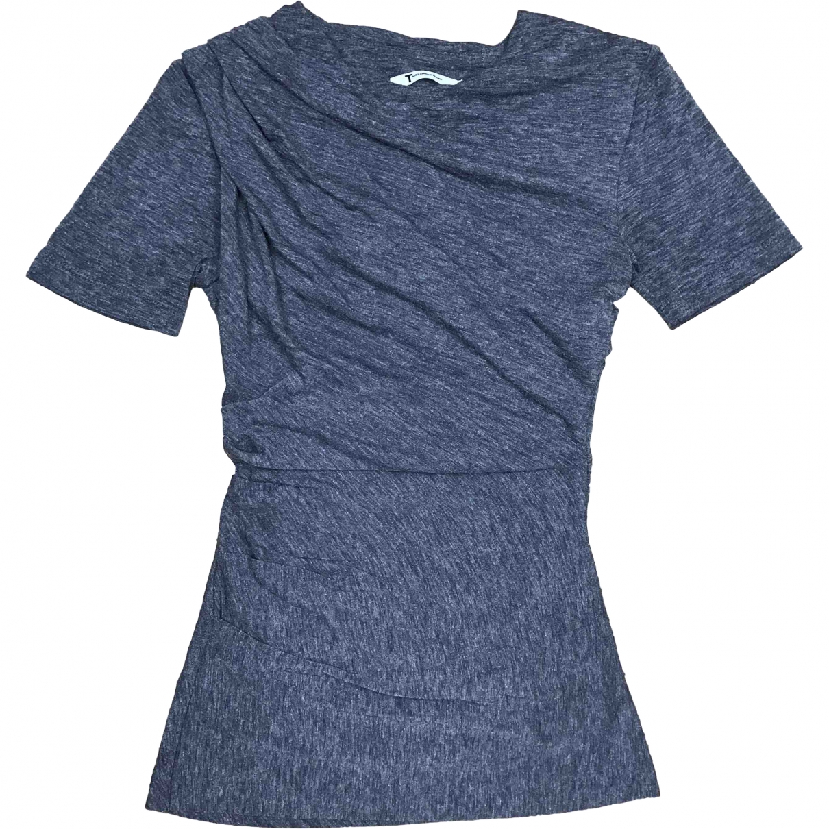 T By Alexander Wang \N Anthracite  top for Women S International