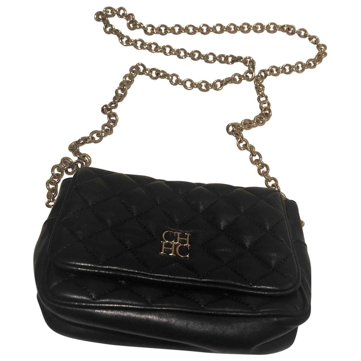 Carolina Herrera \N Black Leather Clutch bag for Women \N
