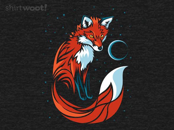 Tribal Fox T Shirt