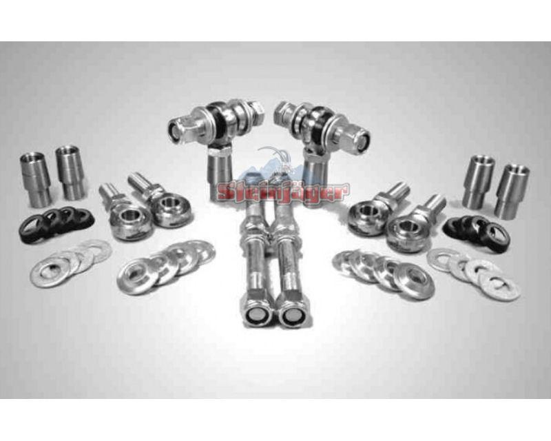 Steinjager J0017942 Rod Ends Set 1.25-12 for 2.000 Diameter x .250 Ball ID 3HSS-32250-20-20-XX-YY 1.25-12 x 1.25