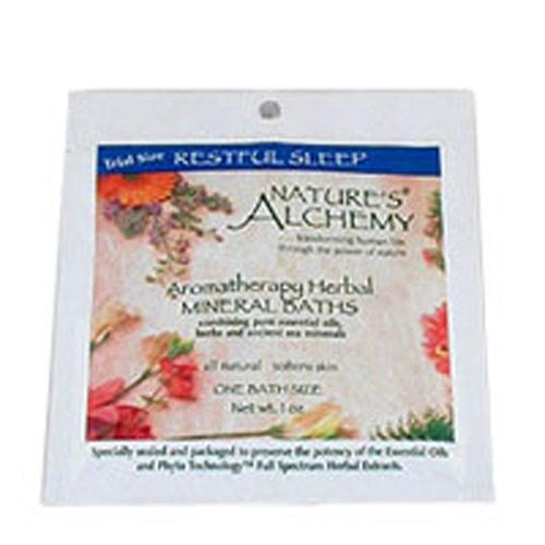 Aromatherapy Bath Restful Sleep 3 Oz by Natures Alchemy