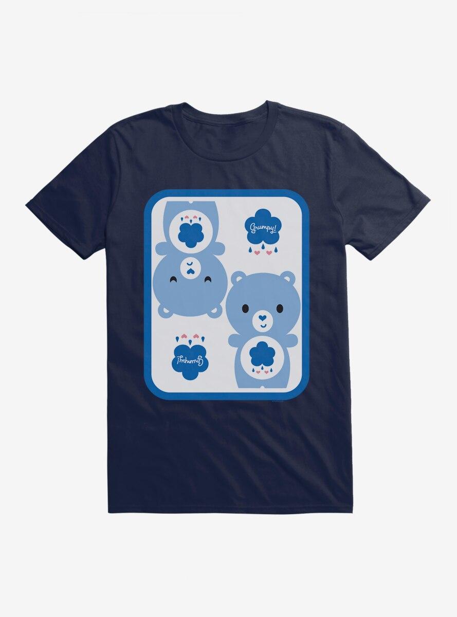 Care Bears Cartoon Grumpy Bear Icon T-Shirt