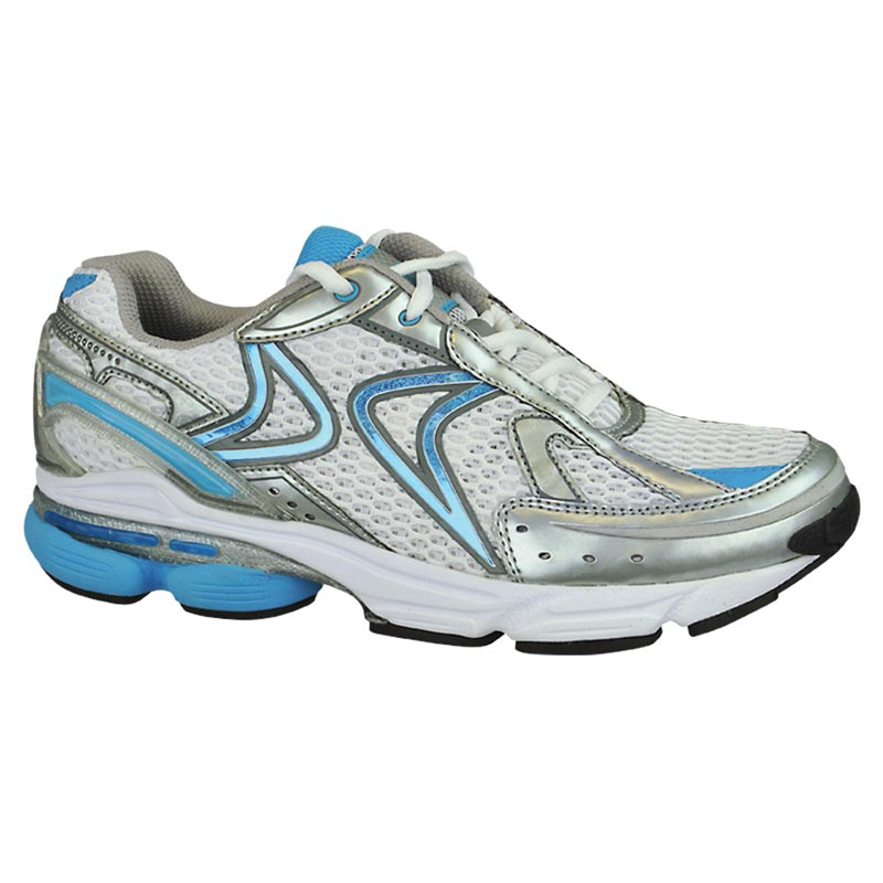 Aetrex Rx Runner White/Blue Synthetic 5 M