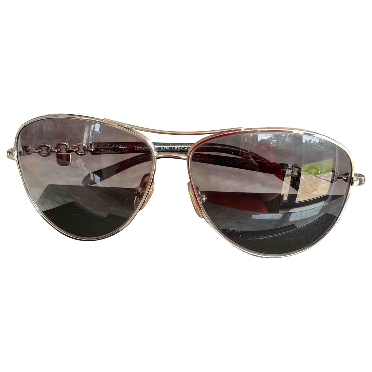 Tiffany & Co \N Black Metal Sunglasses for Women \N