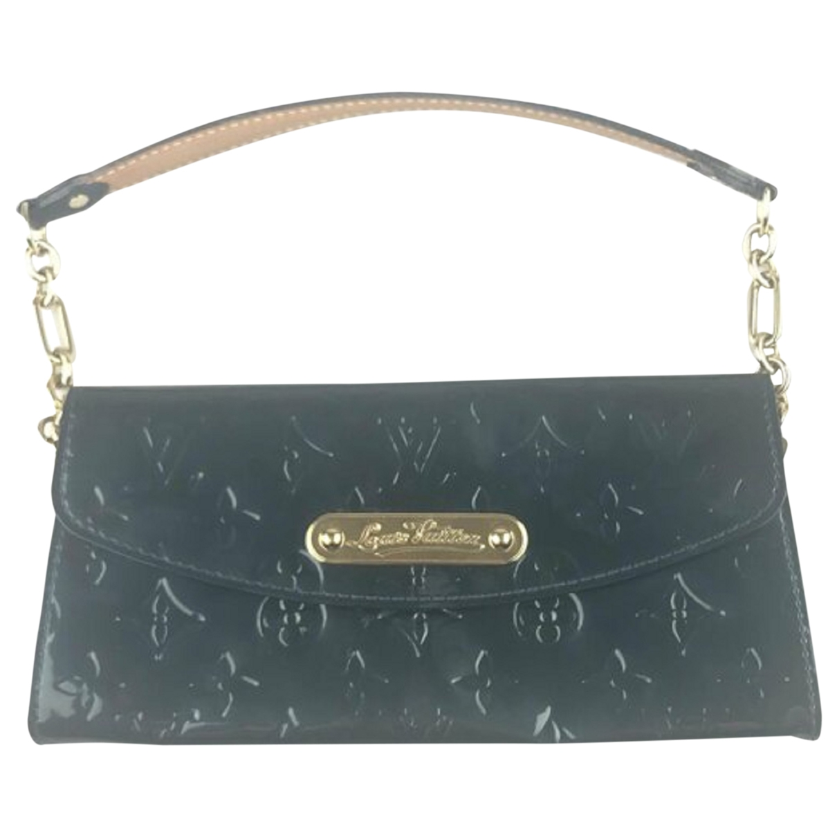 Louis Vuitton \N Green Patent leather Clutch bag for Women \N