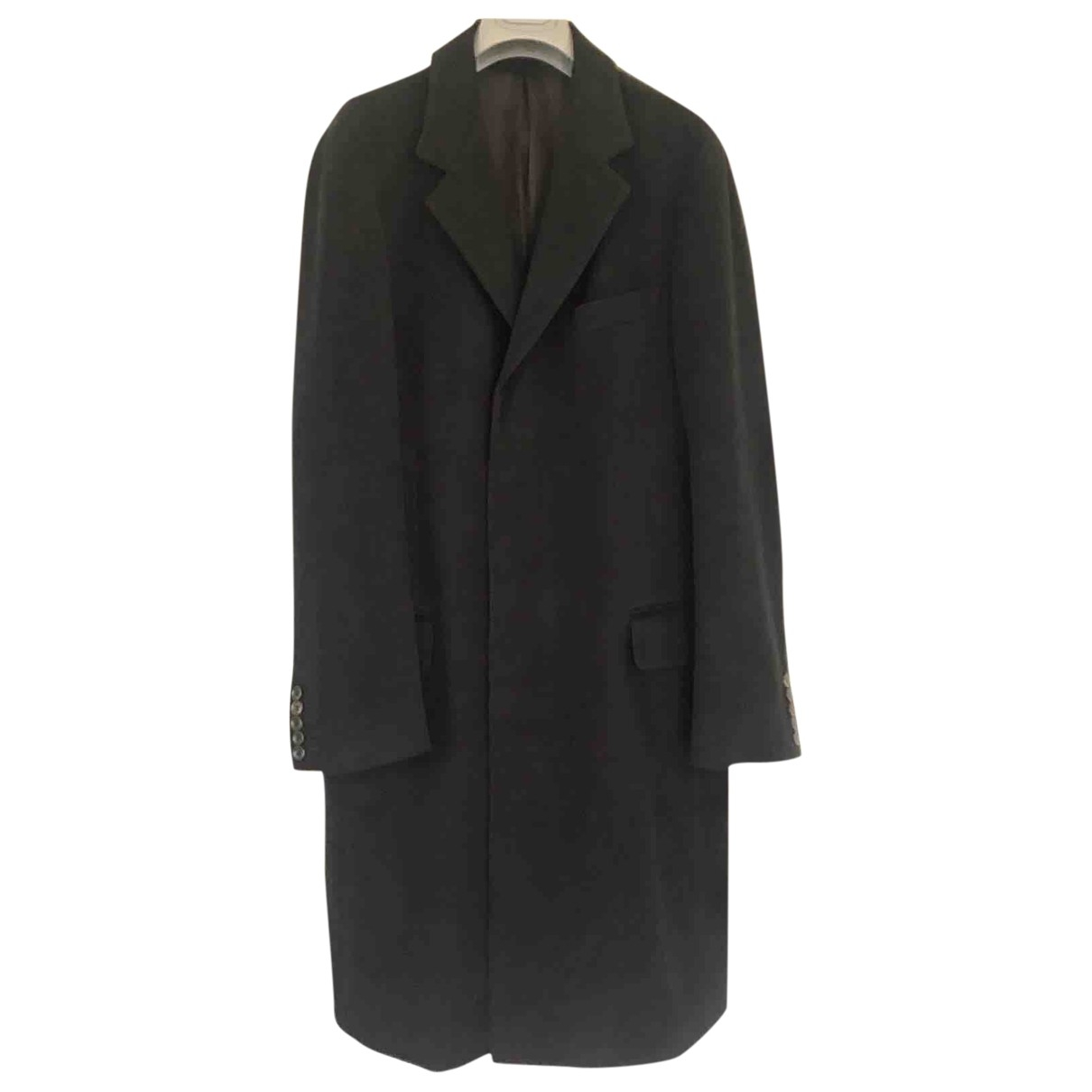 Gucci \N Black Wool coat  for Men 50 IT