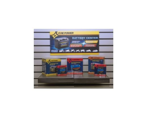Fire Power Parts 490-FPSIGN Battery Rack Sign 490-Fpsign