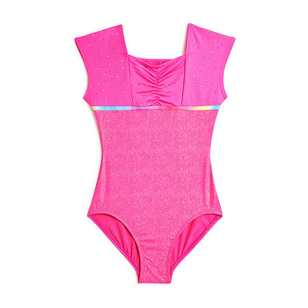 Jojo Siwa By Danskin Sleeveless Leotard - Big Kid, Small , Pink