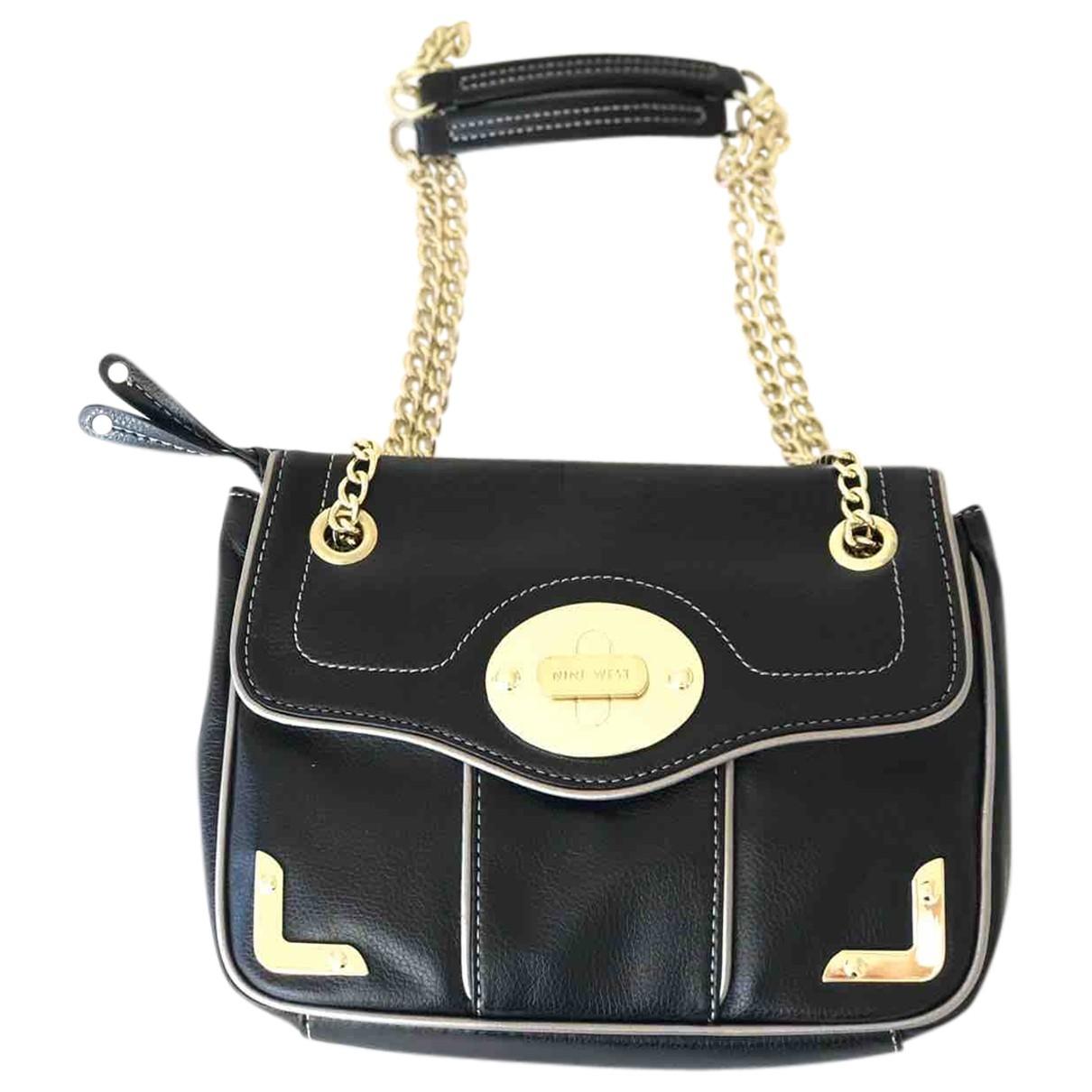 Nine West \N Black Leather handbag for Women \N