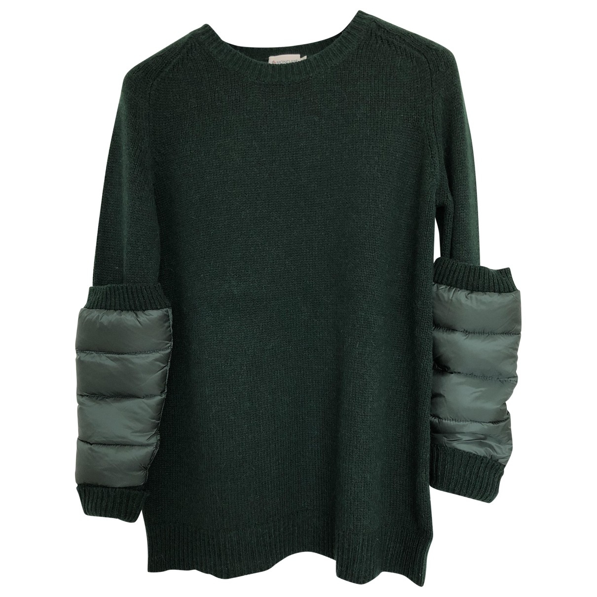 Moncler \N Green Wool Knitwear for Women L International