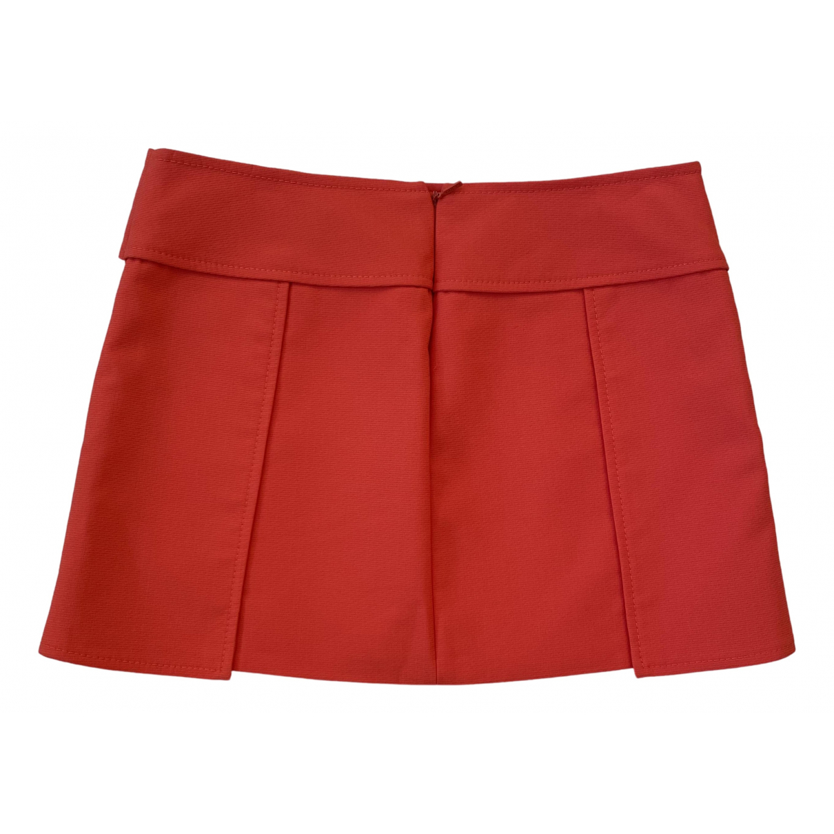 Gucci \N Red Cotton skirt for Women 40 IT