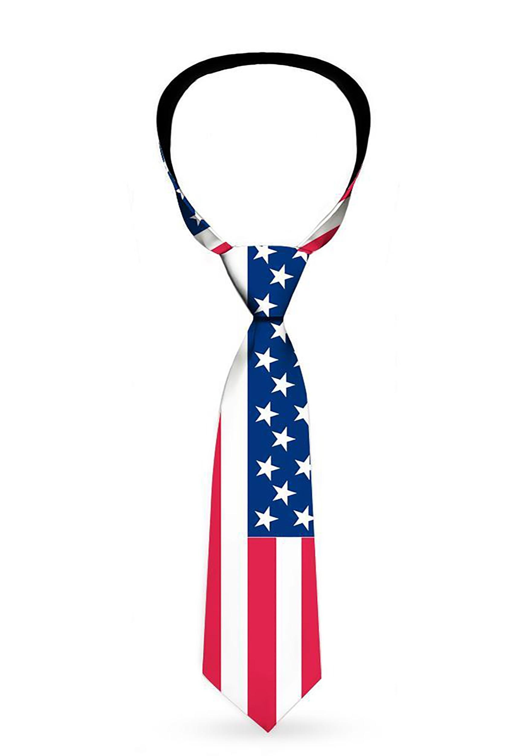 United States Flag Necktie