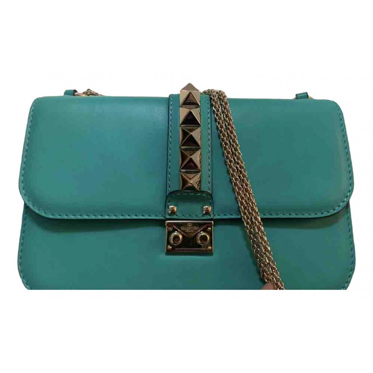 Valentino Garavani Glam Lock Green Leather handbag for Women \N