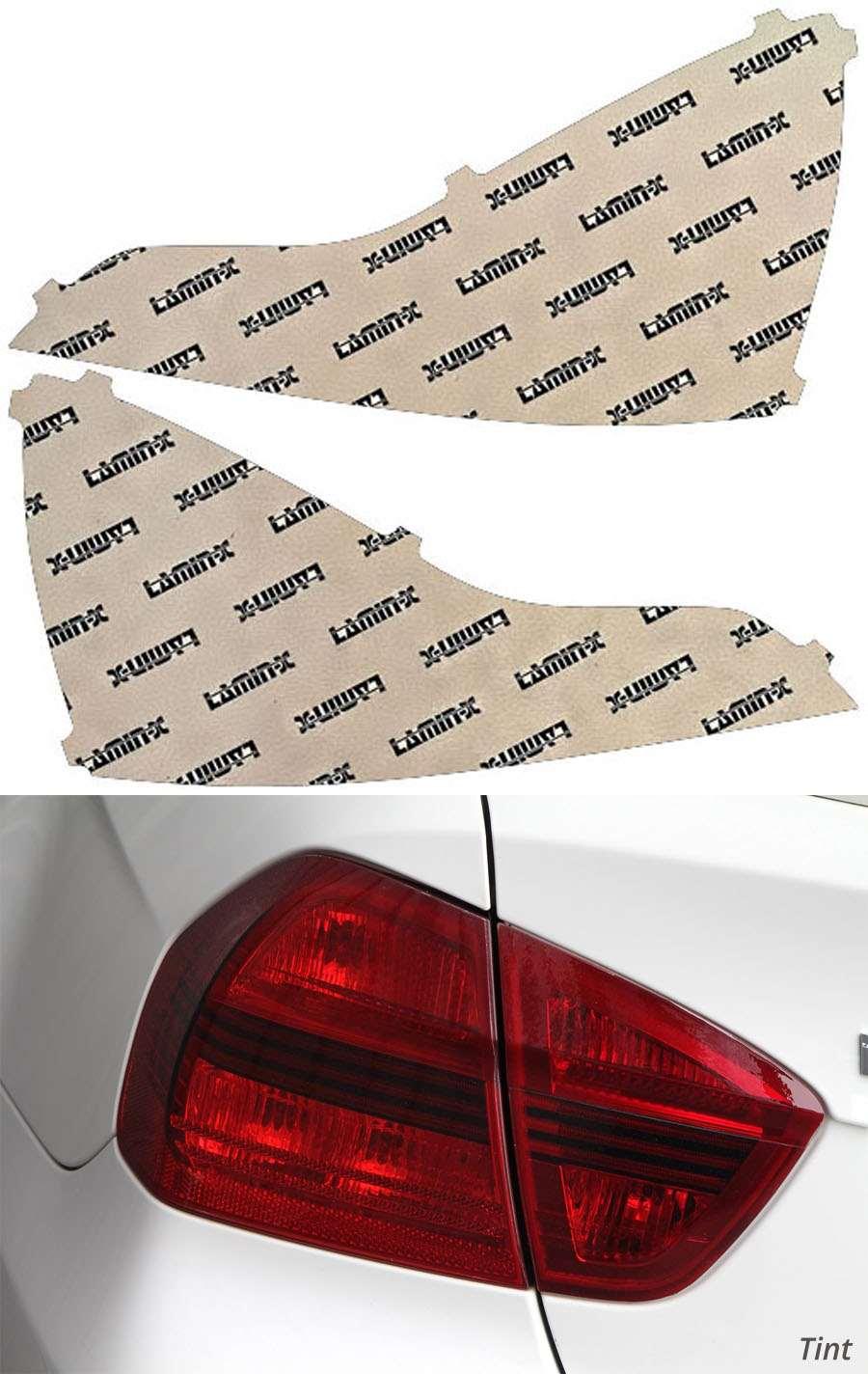 Infiniti G37 IPL Coupe 11-15 Tint Tail Light Covers Lamin-X I611T