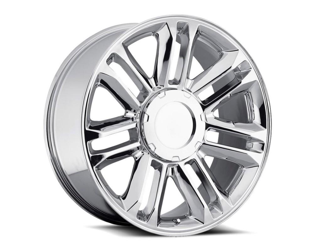 OE Revolution D01-2410655+31C D-01 Wheel 24x10 6x139.7 31mm Chrome