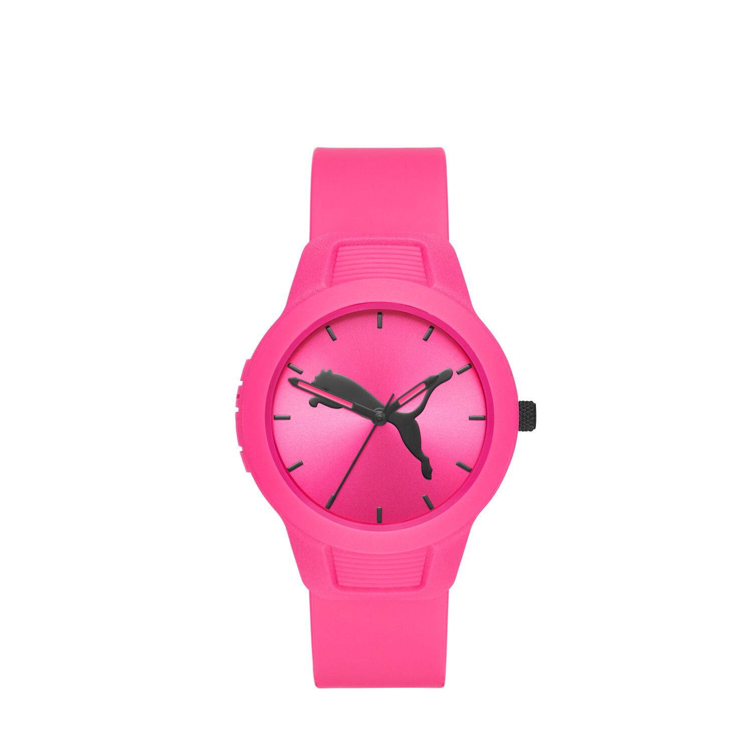 Puma Women's Reset P1015 Pink Polyurethane Quartz Fashion Watch