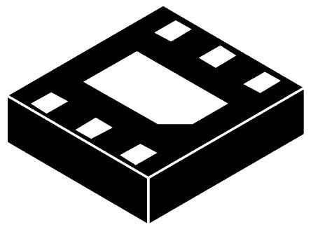 ON Semiconductor NCP606MNADJT2G, LDO Regulator, 675mA Adjustable, 1.25 → 5 V, ±1.5% 6-Pin, DFN (10)