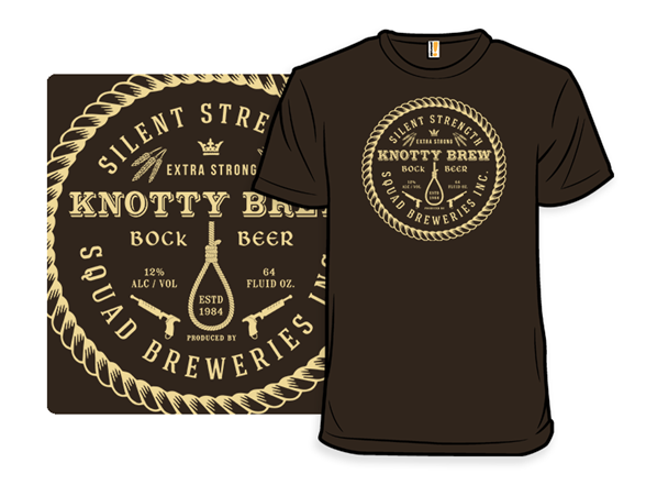 Knotty Brew - Squad Breweries T Shirt