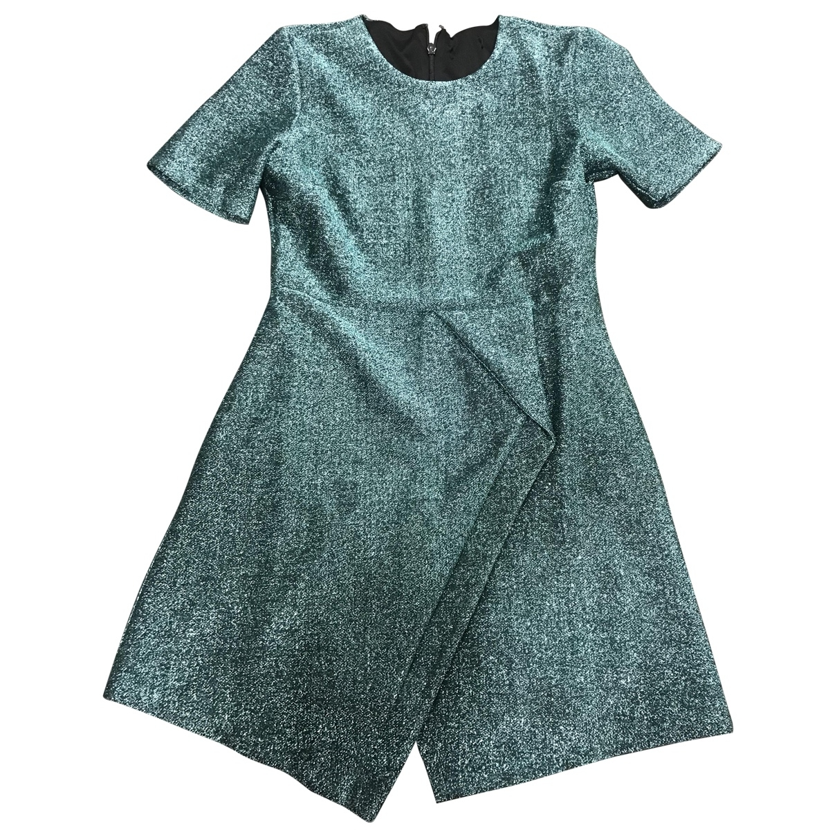 Non Signé / Unsigned \N Green Cotton - elasthane dress for Women 10 UK
