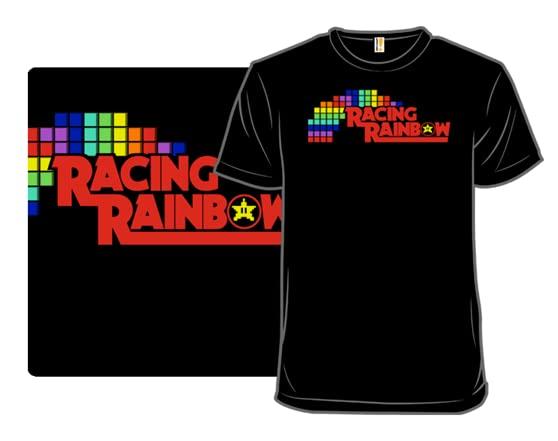 Racing Rainbow T Shirt