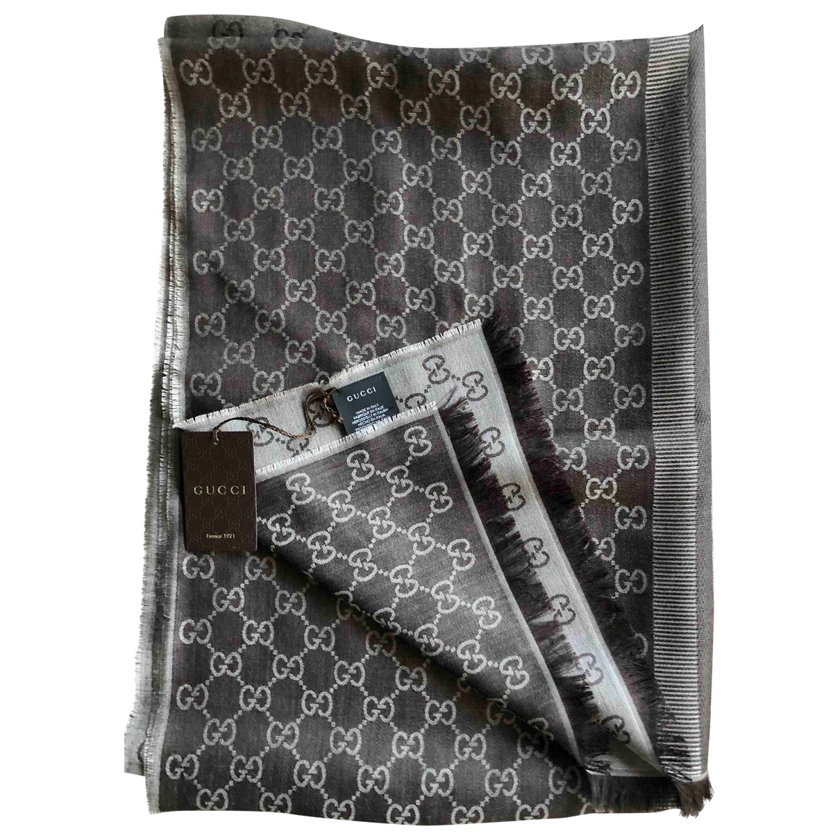 Gucci \N Brown Wool scarf for Women \N