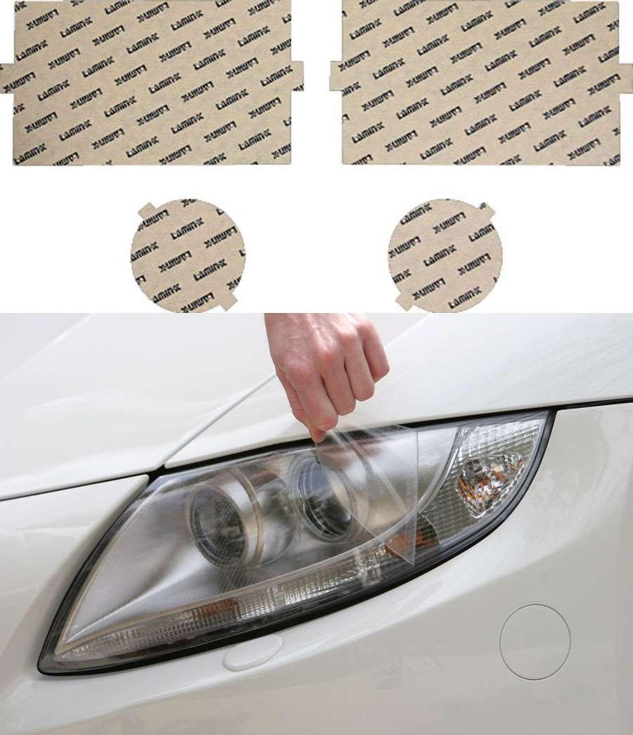 Dodge Ram 2500 | 3500 94-02.5 Clear Headlight Covers Lamin-X D017CL