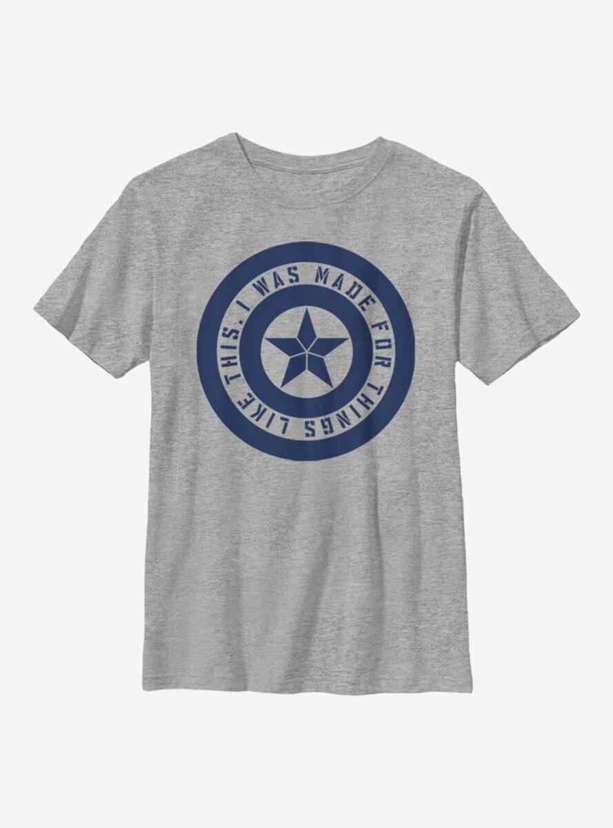 Marvel Avengers Shield Inspiration Youth T-Shirt