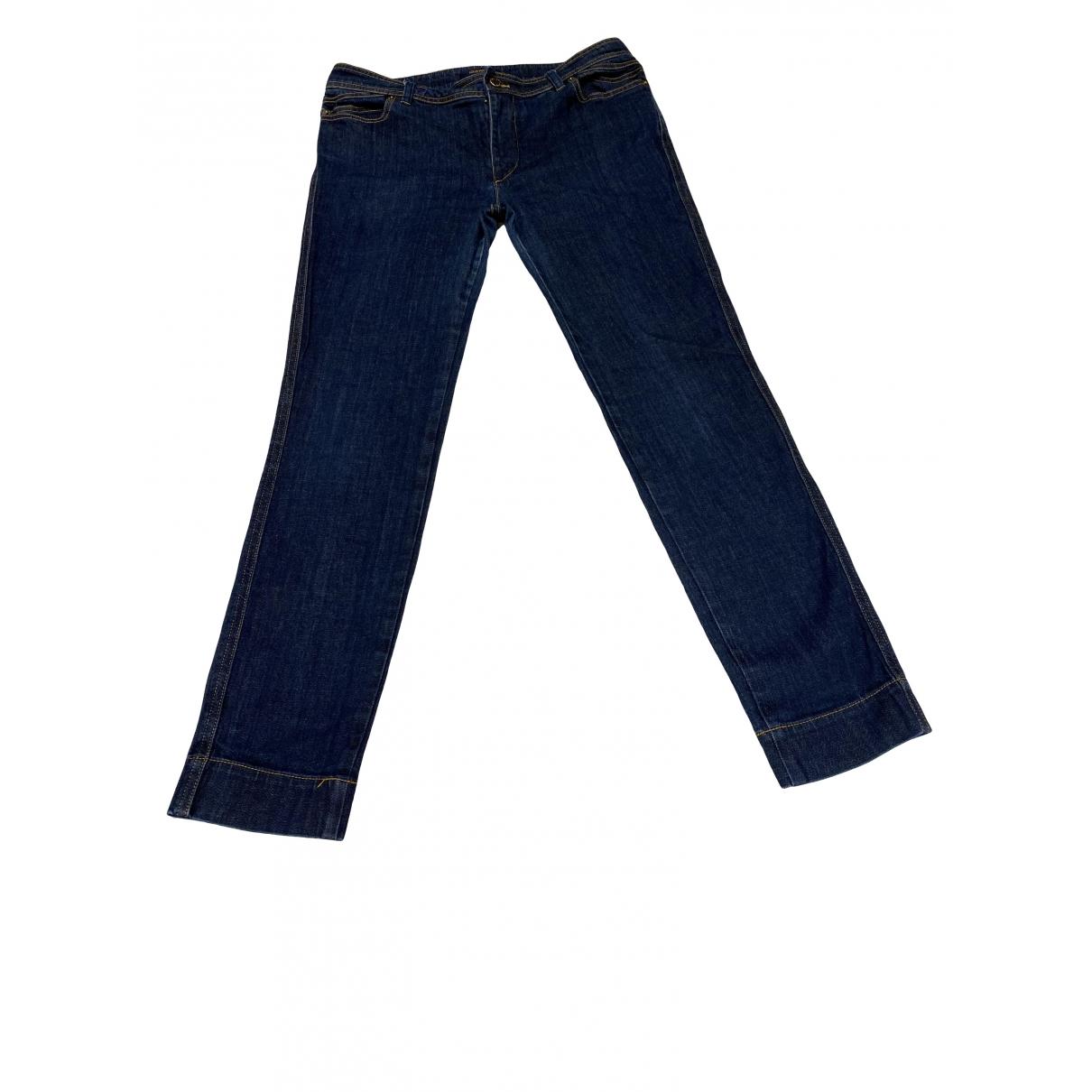 Louis Vuitton \N Blue Denim - Jeans Jeans for Women 40 FR