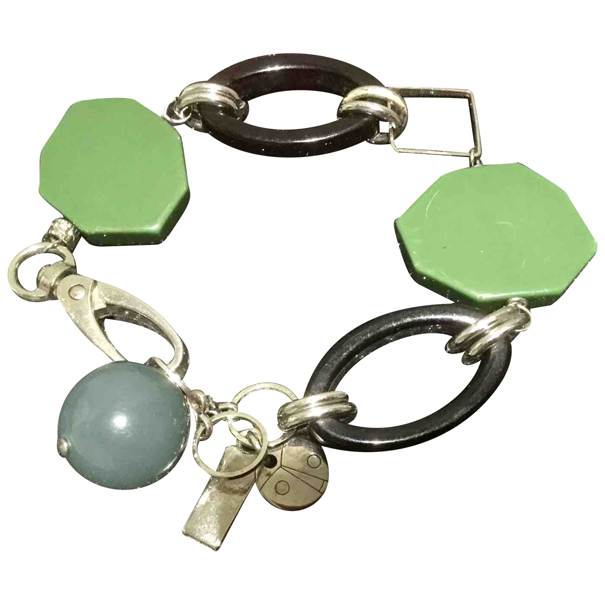 Coccinelle \N Green Metal bracelet for Women \N