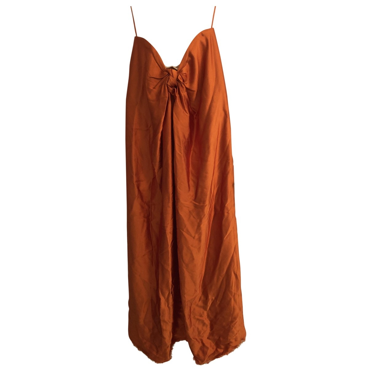 Non Sign?? / Unsigned \N Orange dress for Women 46 IT