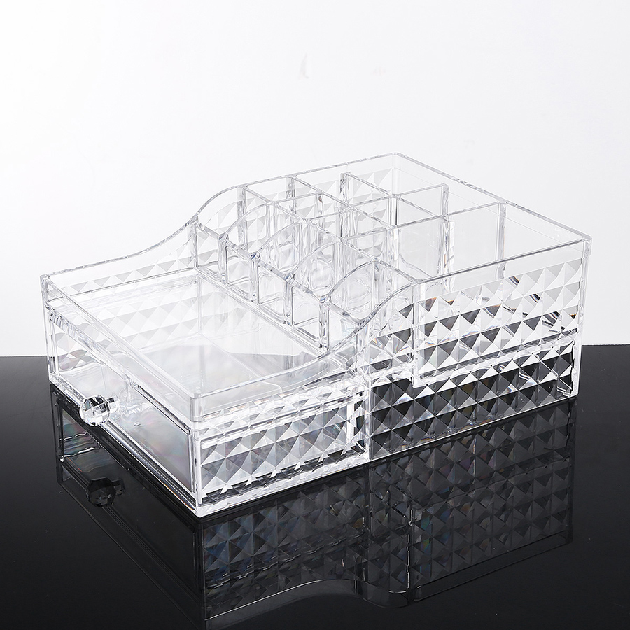 18.7*26.7*9.7cm Firm Environment Friendly Acrylic Material Cosmetic Storage Box