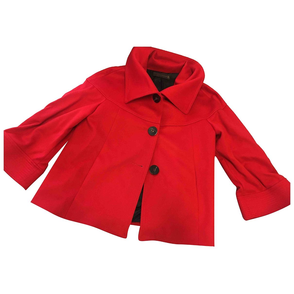 Zara \N Red Wool jacket for Women L International