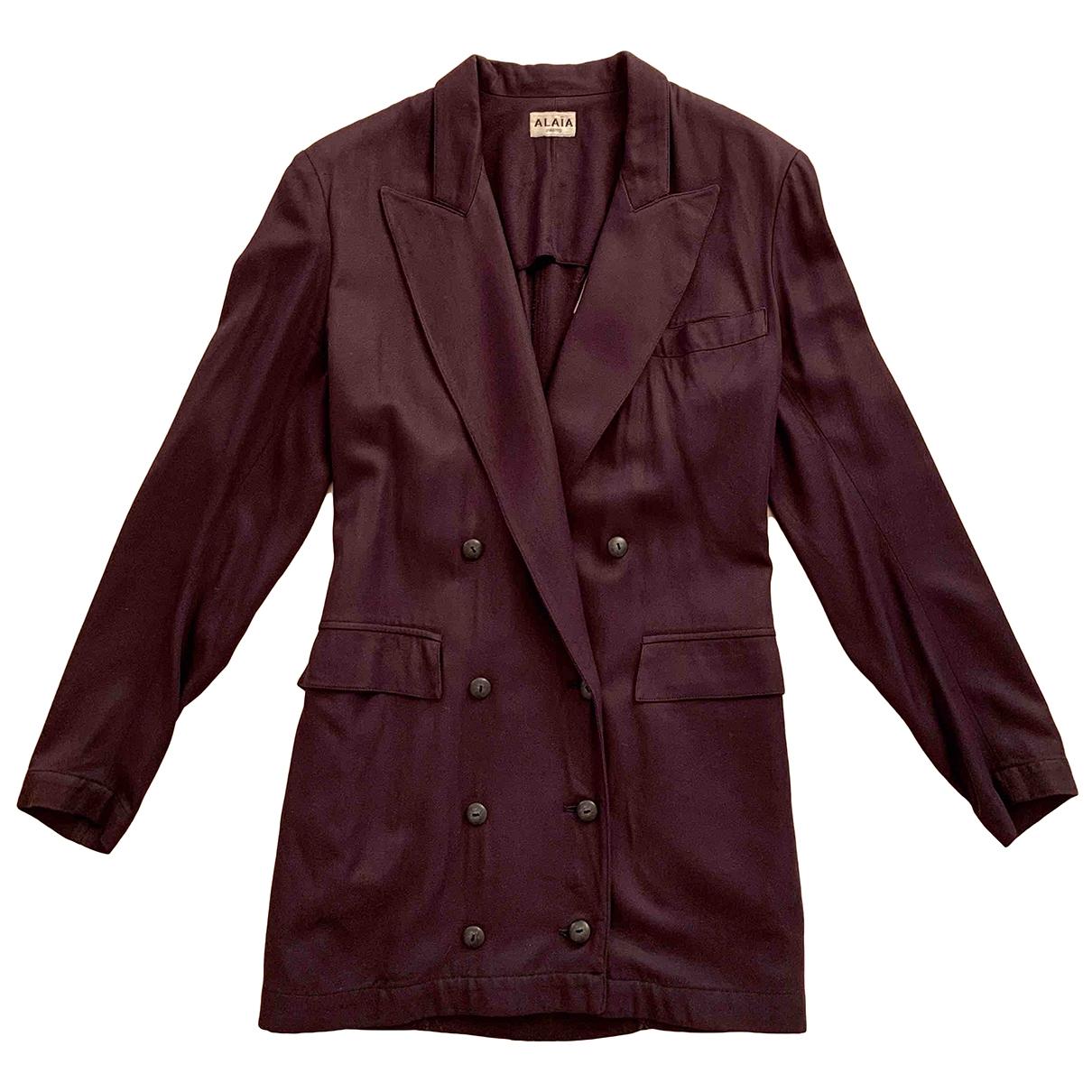 Alaïa \N Purple jacket for Women 38 FR