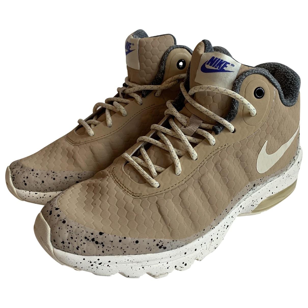Nike \N Sneakers in  Beige Kautschuk