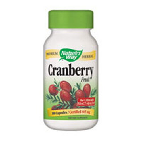 Cranberry Fruit 180 Vegicaps by Nature's Way