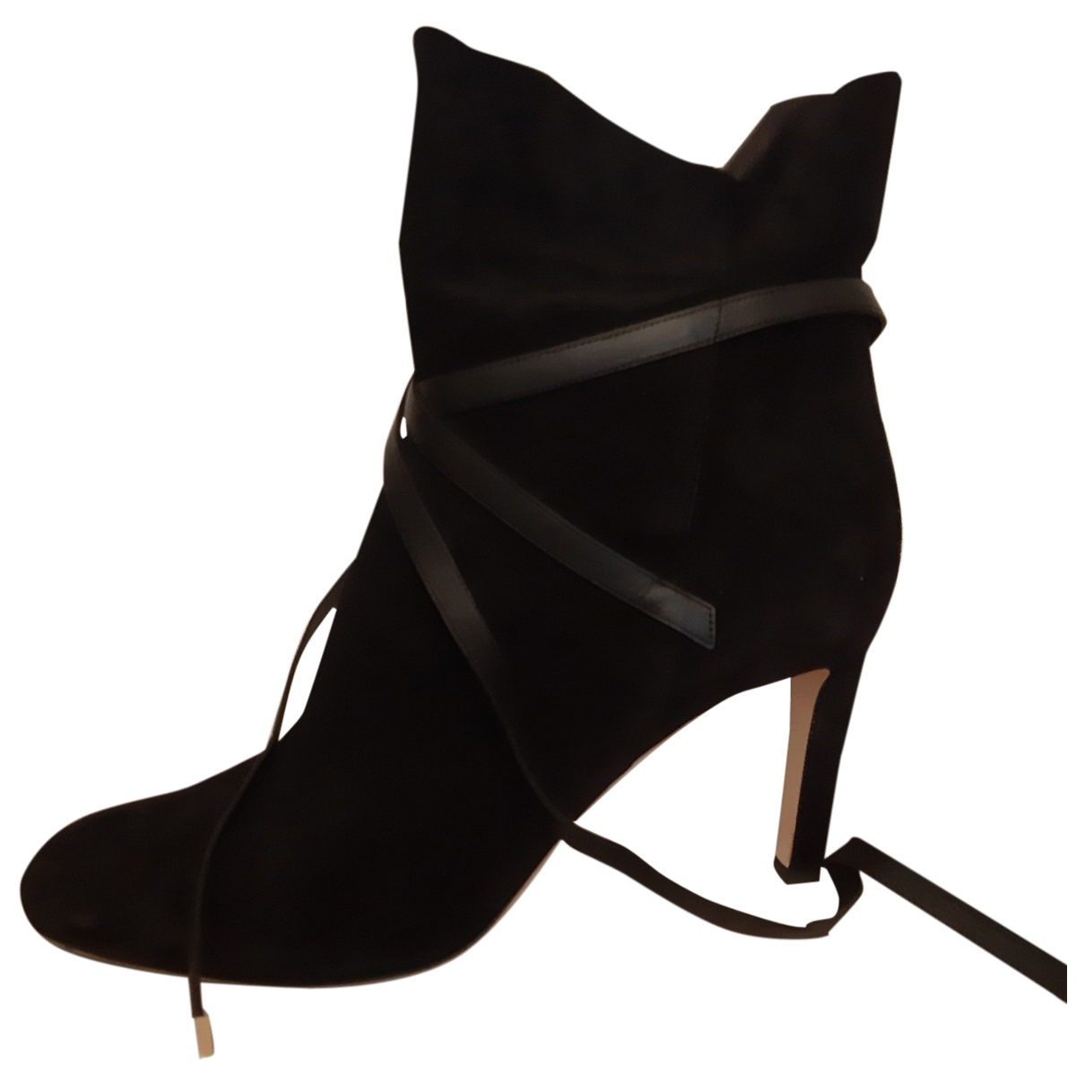 Jimmy Choo \N Black Suede Ankle boots for Women 42 EU
