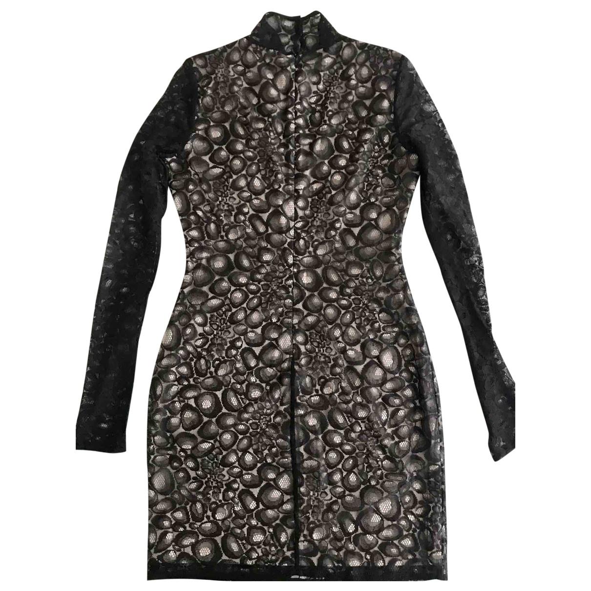 Diane Von Furstenberg \N Black Lace dress for Women 4 US