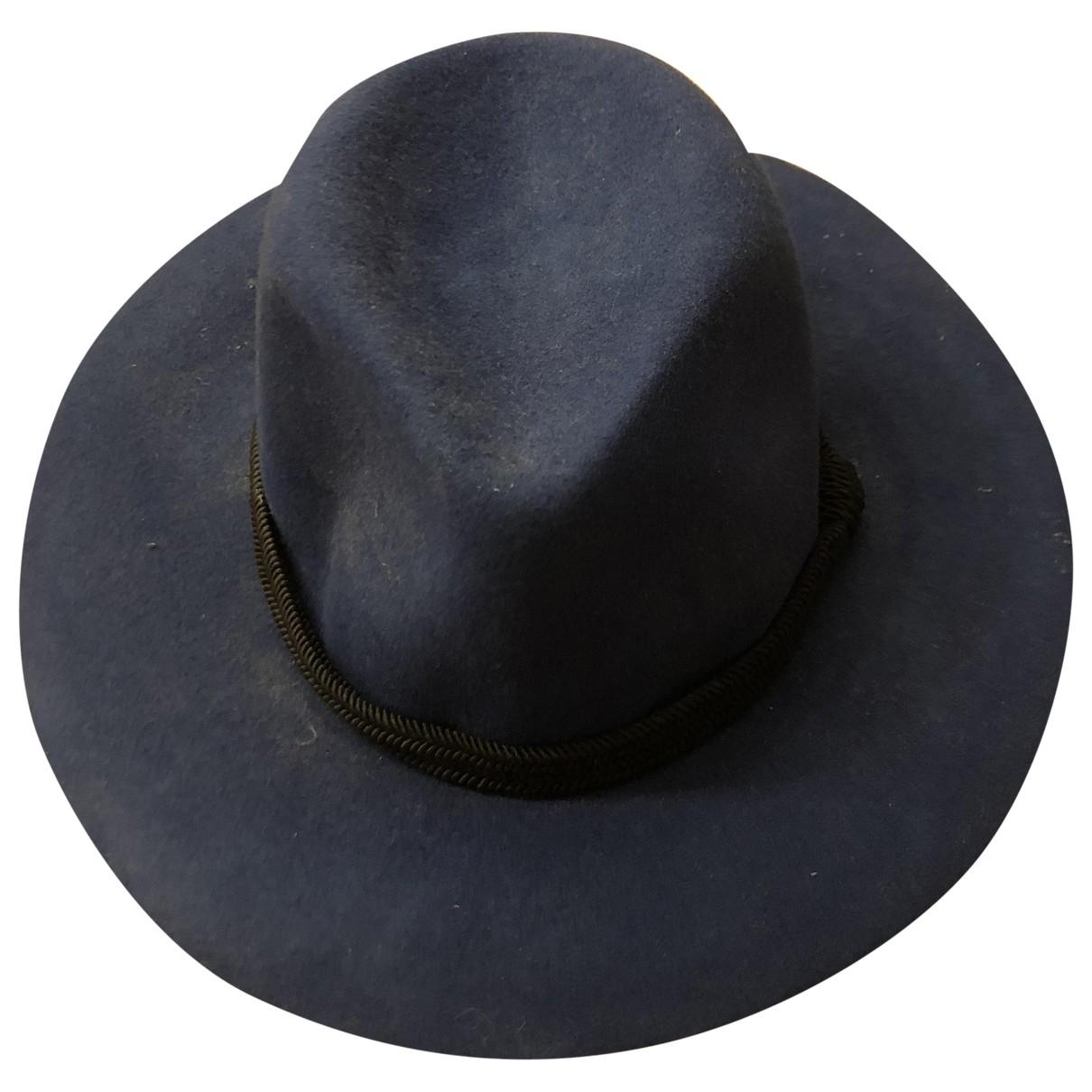 Maje \N Blue Wool hat for Women S International