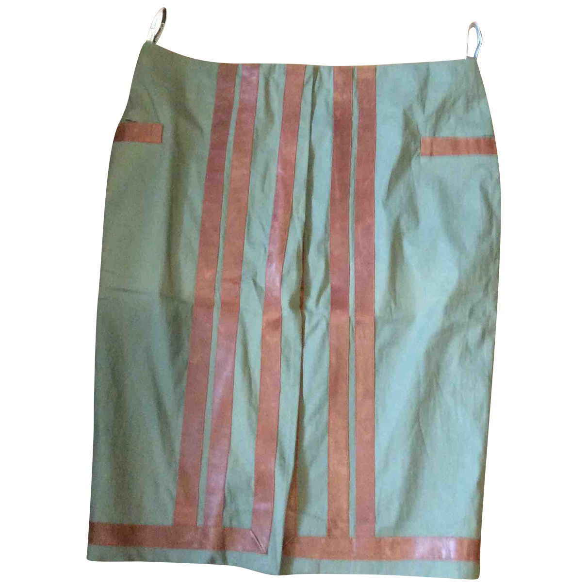 Dior \N Green Cotton skirt for Women 40 FR