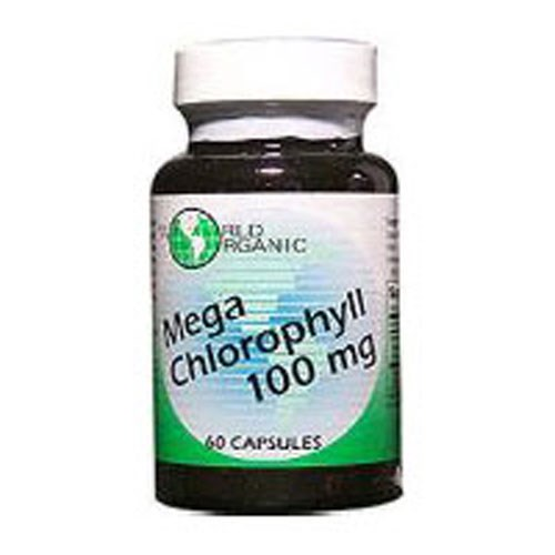 Mega Chlorophyll 60 Caps by World Organics