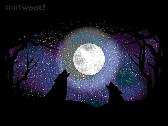 Midnight In The Forest T Shirt