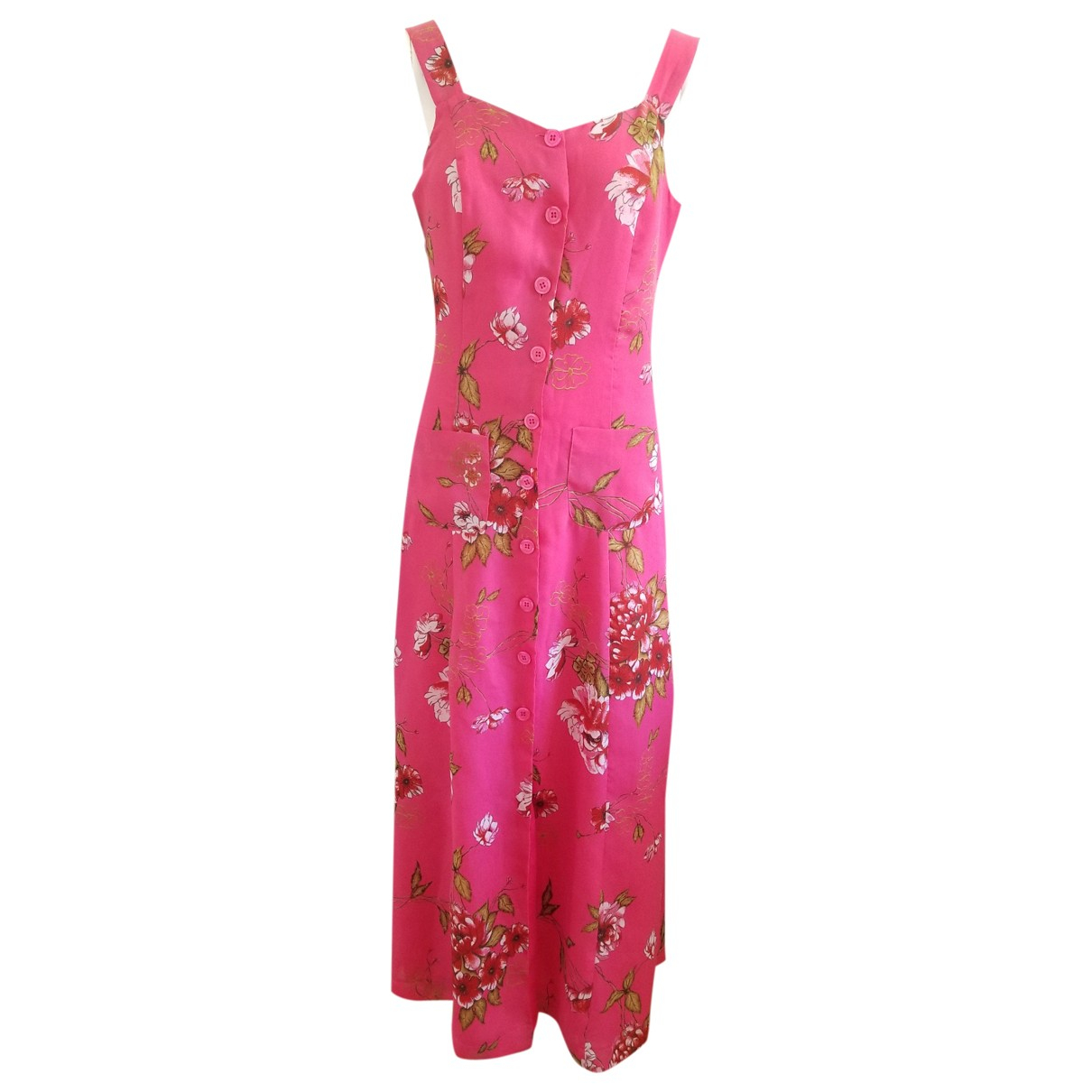 Non Signé / Unsigned \N Pink dress for Women 38 FR