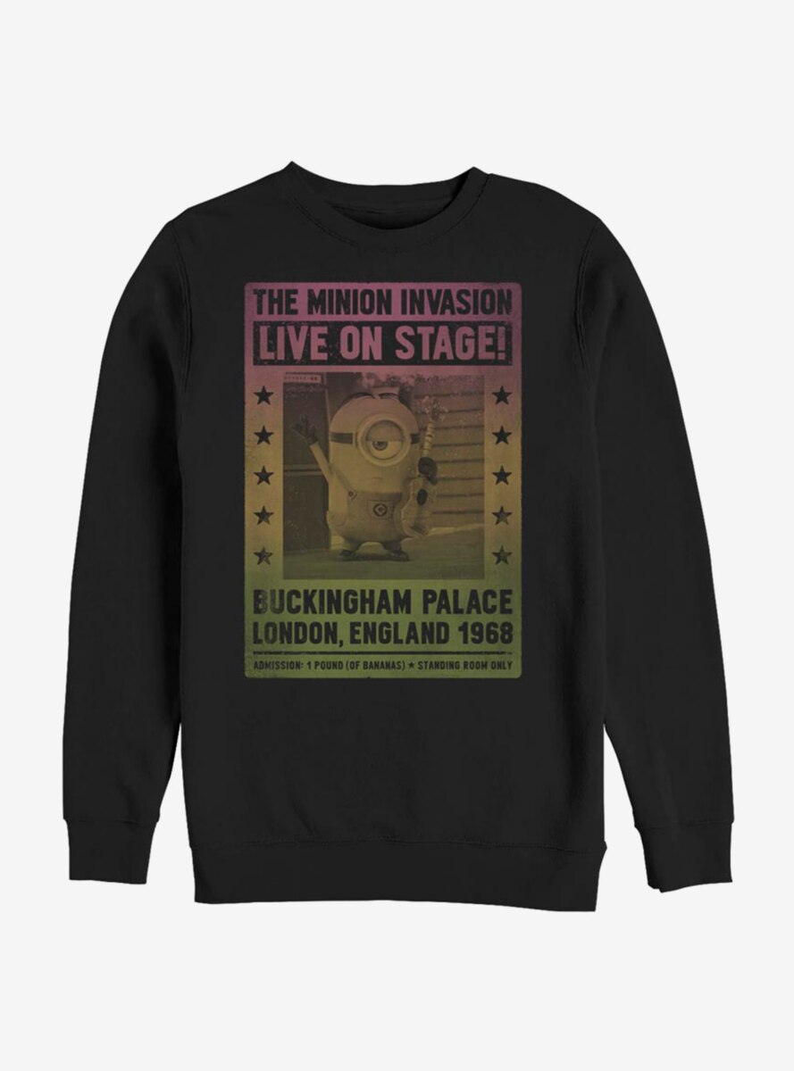Despicable Me Minions Live On Stage Sweatshirt