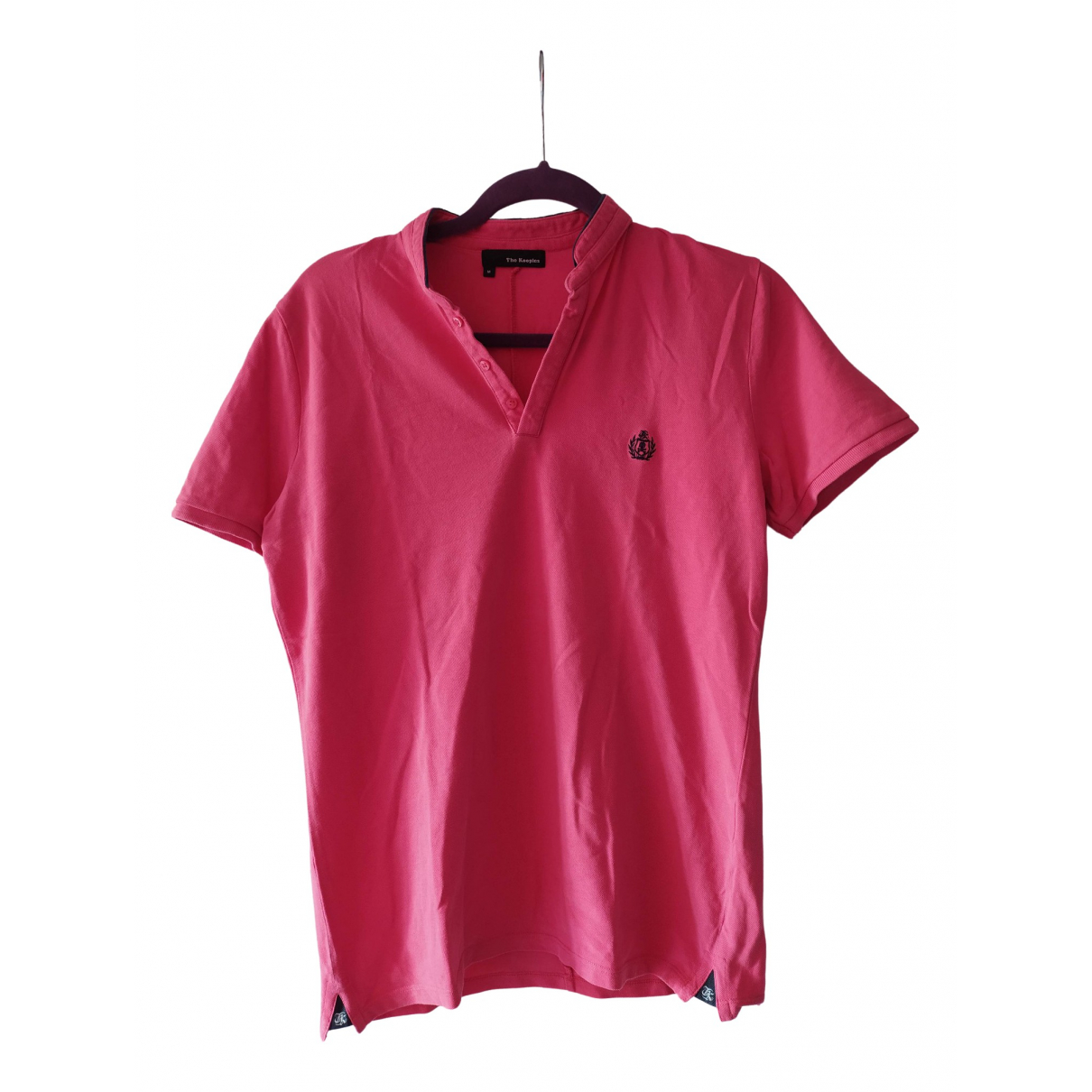 The Kooples \N Pink Cotton Polo shirts for Men M International