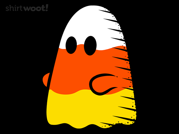Candy Corn Ghost T Shirt