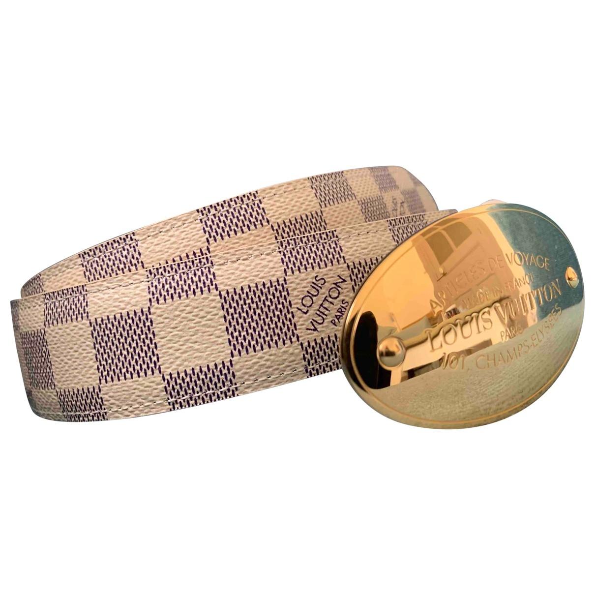 Louis Vuitton \N White Cloth belt for Women S International